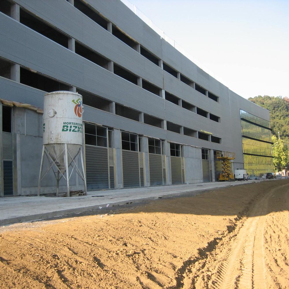 efikat_edi_terci_06w_Fachada panel chapa aluminio Pabellón ZEB Bolueta